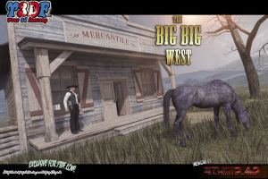 Y3DF- The Big Big West