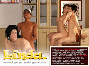 Linda- Divorced and Happy- Ultimate3DPorn