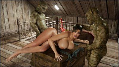 Buộc khiêu dâm 3d