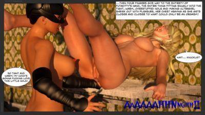 Zuleyka  Ultragirl Vs Futakitty- Affect3D - part 4