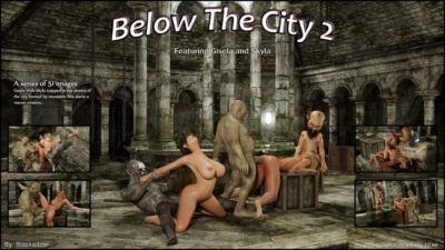 blackadder bên dưới những thành phố 2