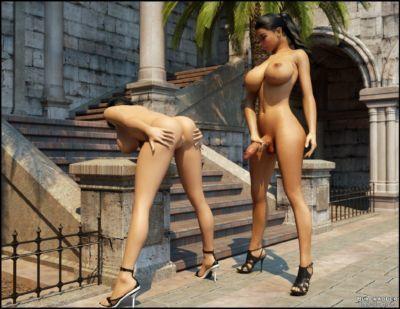 Dickgirls 02- Blackadder - part 3