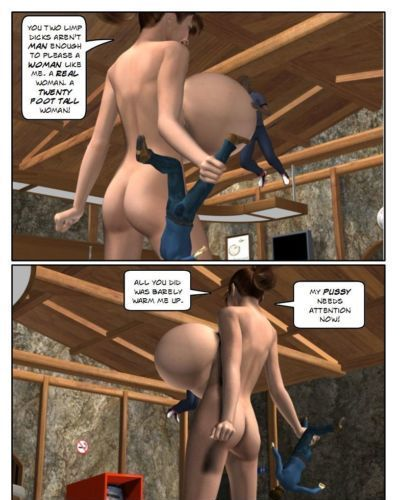 Angry Giantess - part 2
