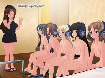 [Hypnochan (Henshin-san)] After Sex Teatime - Bimbofication (K-ON!) - part 2