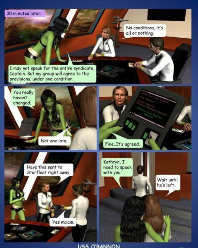 Tales from the fleet: 30 minutes (Star Trek) - part 2