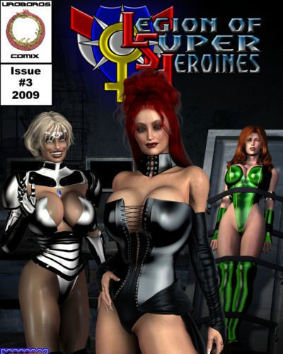 Legion of Super Heroines 03 - The Dark Half