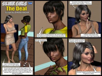 Silver Girls by Bw The Deal Interracial 3d Comic