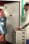 3Darlings Model Nadia eat Donuts - part 2