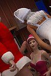 How Santa Celebrated Christmas