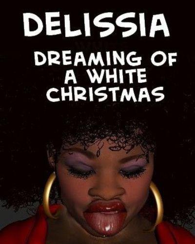 delissia mơ những một trắng Giáng sinh