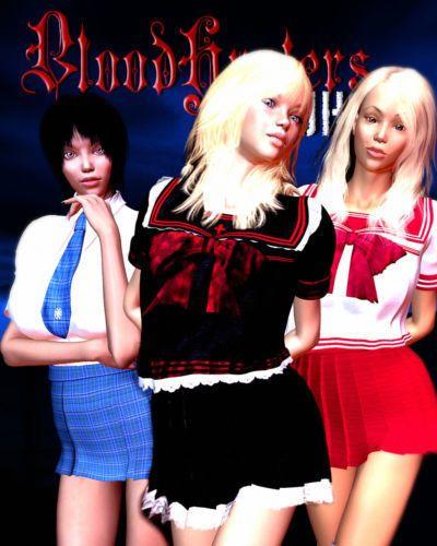 Bloodhunters Newhalf - 002 The new recruit (futa 3d)