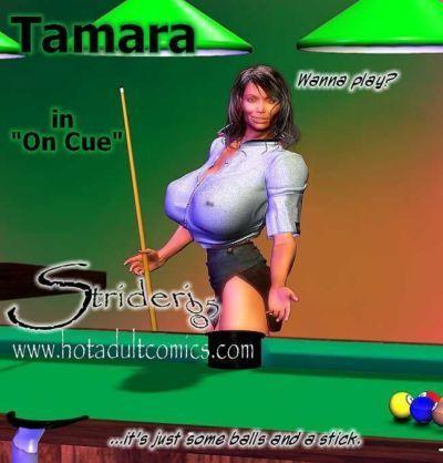 "[3D] Tamara in \""On Cue\"""