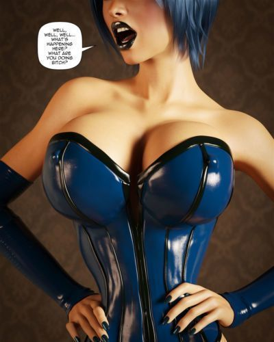 Miki3DX – Denise Latex Maid Updated - part 3