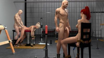 3DZEN – Shades of Darkness 2 – Kari & Zoey - part 9