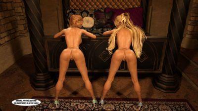 Gator3D – Fairy Tales – Elven Schoolgirls - part 5