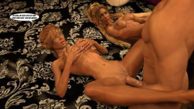 Gator3D – Fairy Tales – Elven Schoolgirls - part 7