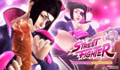 STREET FIGHTER / FUCKING WITH JURI (WINNER