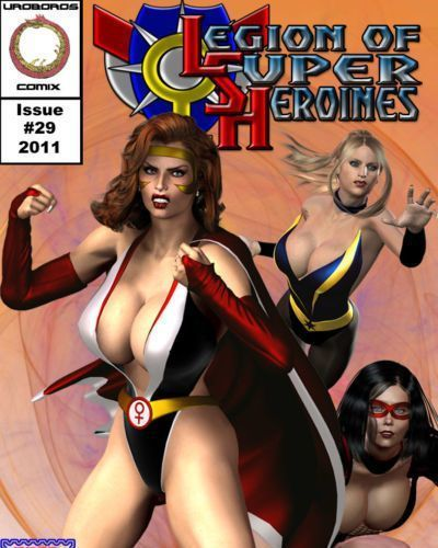 [Uroboros] Legion Of Superheroines 29 - 46