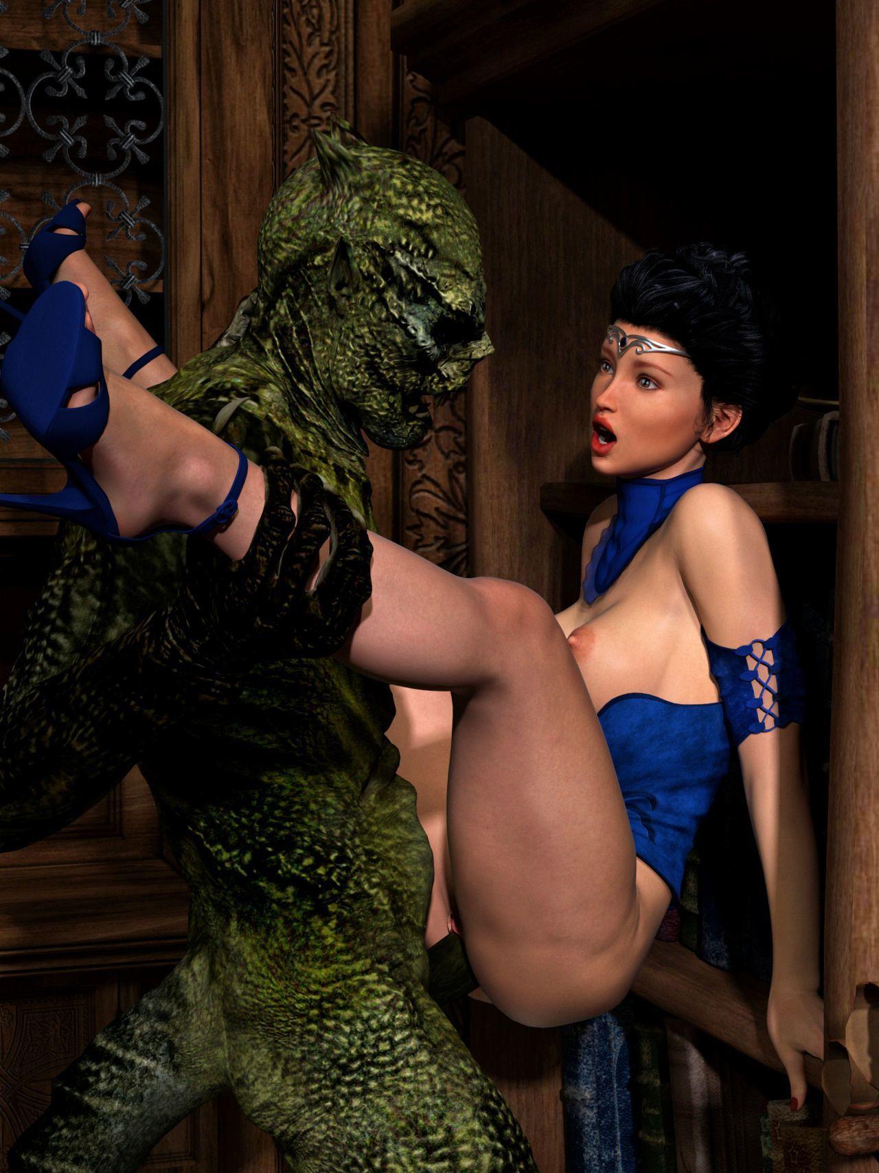 Hibbli3D – Sorceress Lori - Sold To Demons ( story + pics ) - part 4