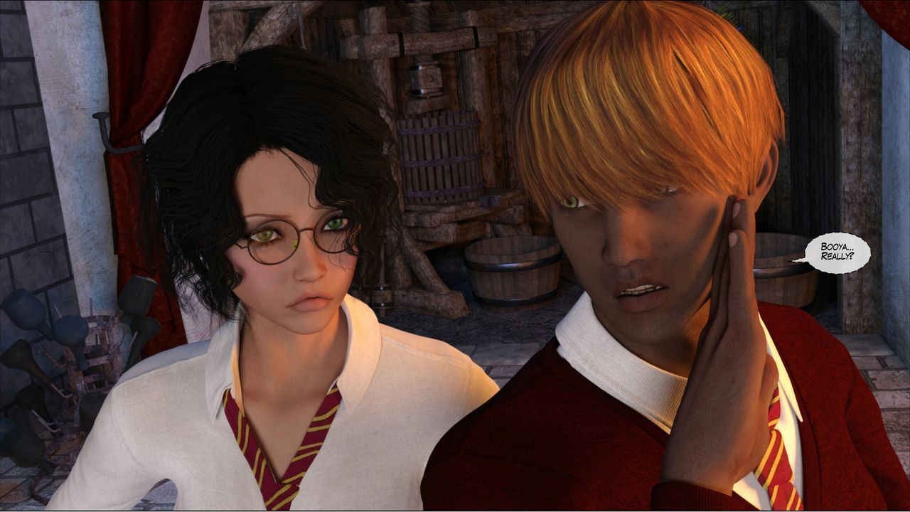 [Shinra-kun] Harriet Cooper And The Wizard\'s Sacrifice - Spell 3 - part 7