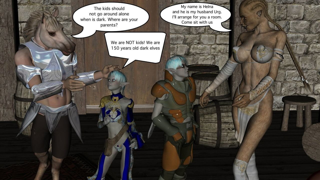 [Vger] The Sex Elf Quest