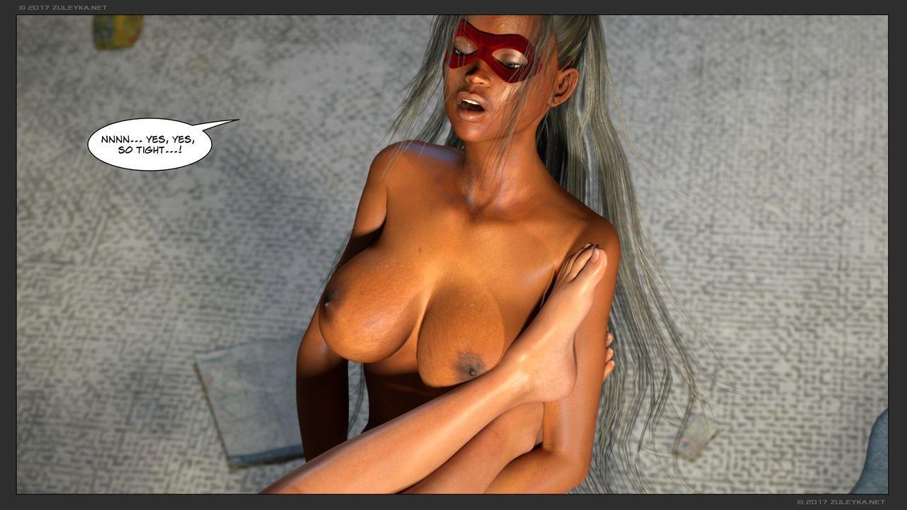 [Zuleyka] Ultragirl and Futa Panther - part 2