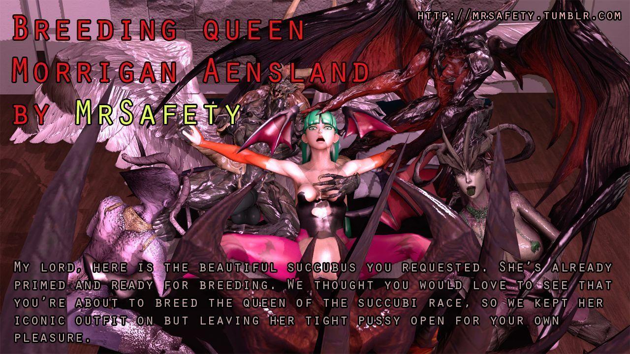 Breeding Queen Morrigan Aensland
