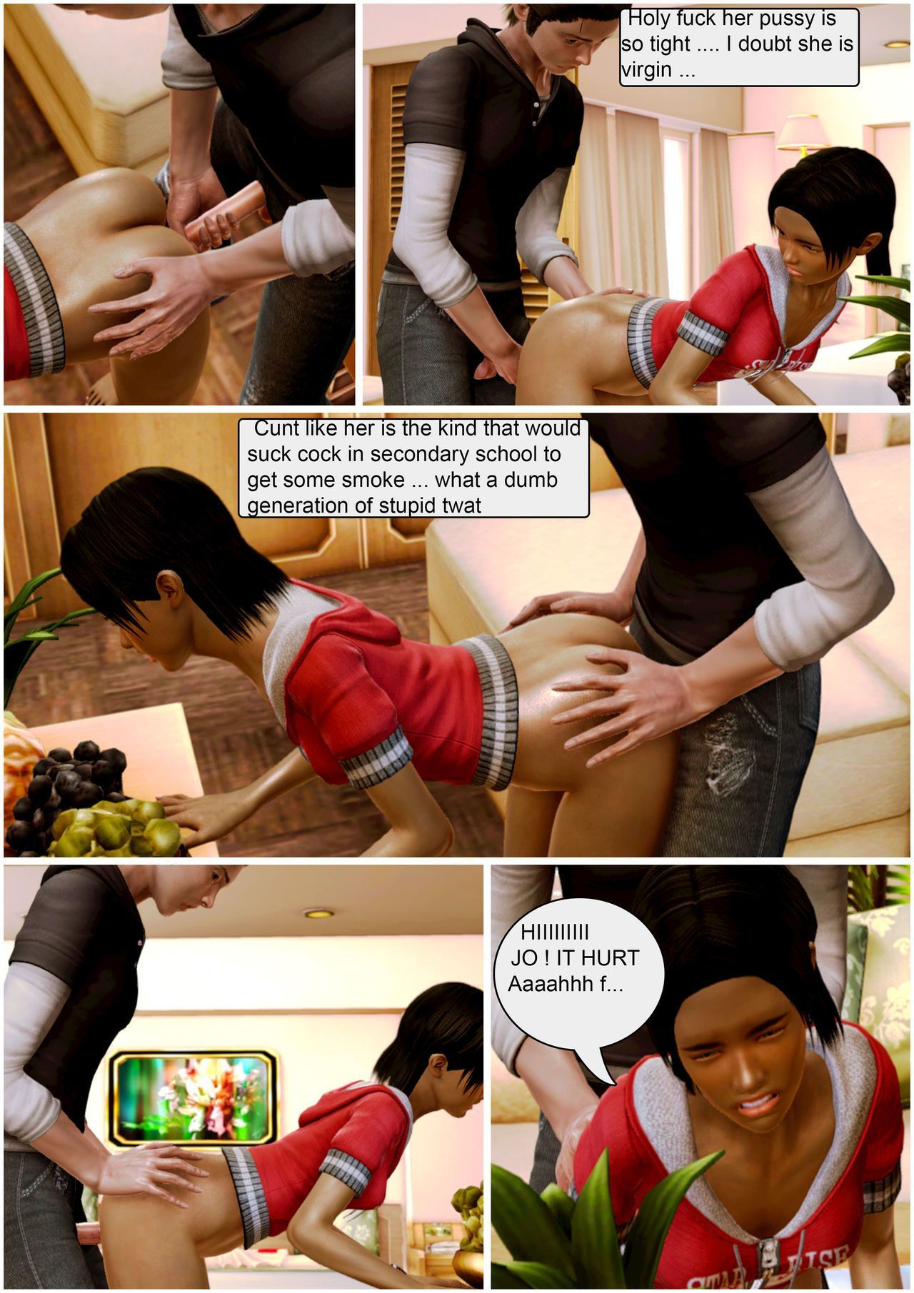 [Wolfyperv] Adopted Child Love for his Family 2 - part 2