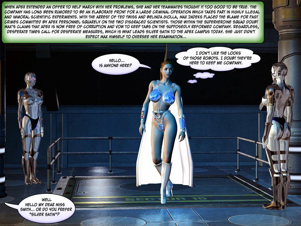 [Finister Foul] Superheroine Squad 1 - 23