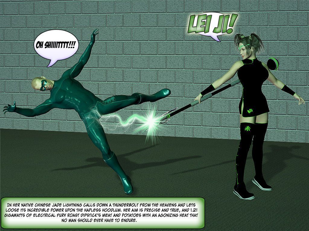 [Finister Foul] Superheroine Squad 1 - 23 - part 2