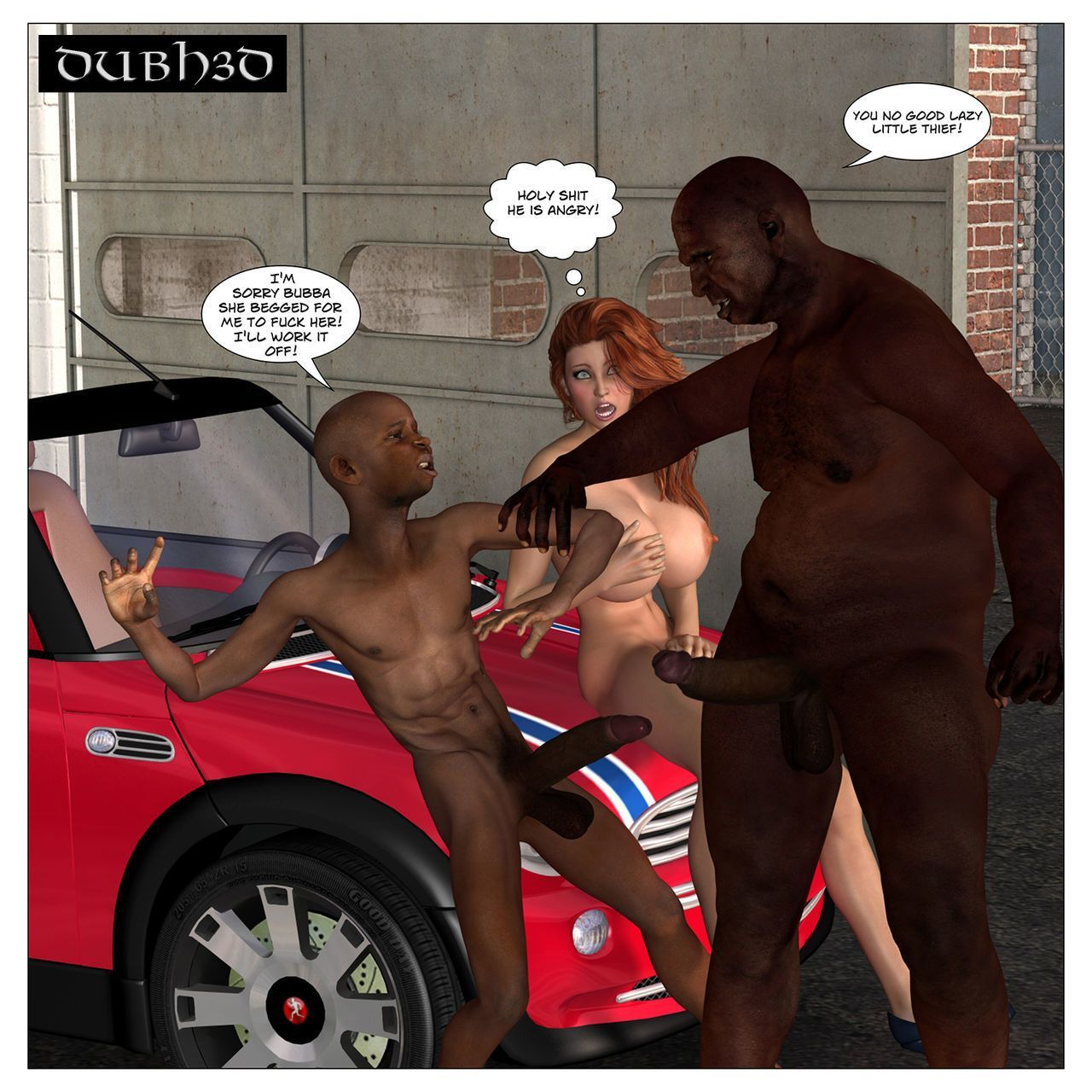 Dubh3d 3d porn RED: CAR TROUBLE Chapter 2 - The Pickup - part 2
