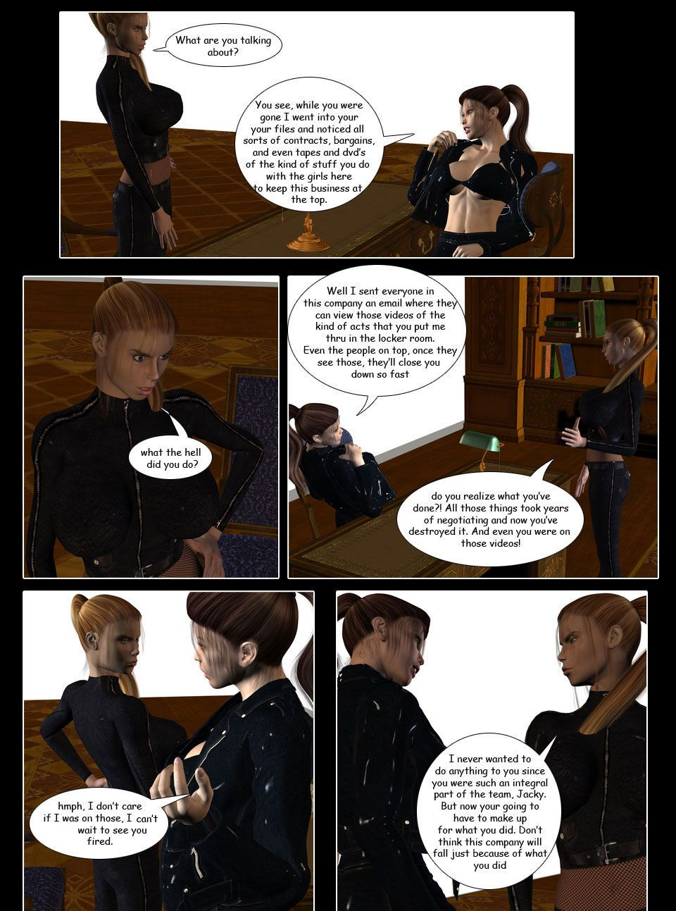 [Infinity Sign] Payback Possession - part 4