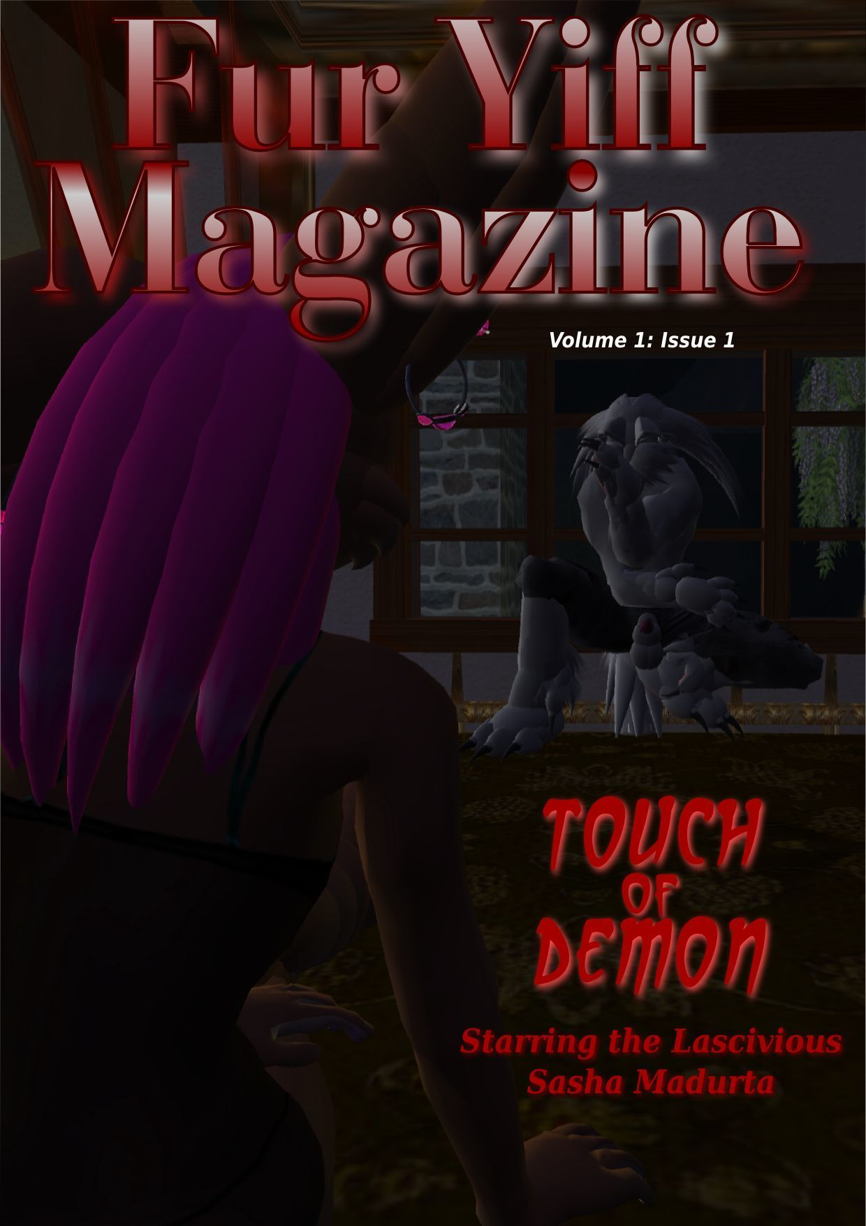 Fur Yiff Magazine - Vol 1 - Issue 1 - Touch Of Demon