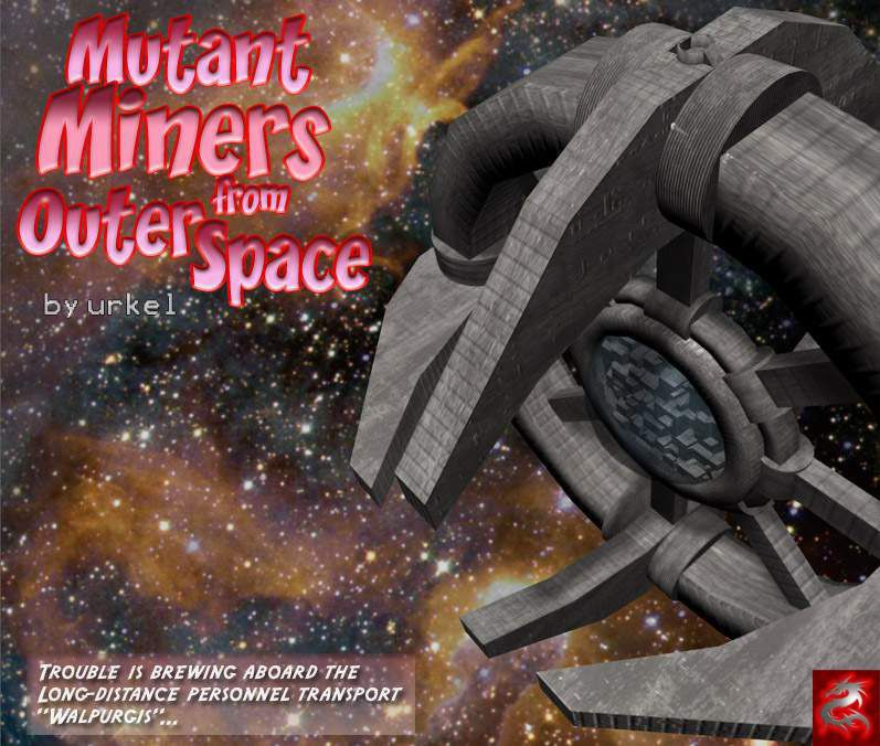 [3D] Mutant Miners outer from space