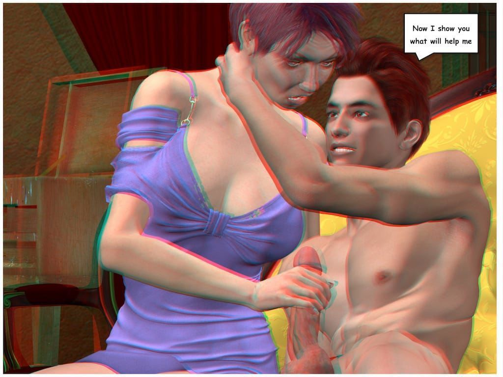 [Vger] Posing for my mother (3d anaglyph version] - part 2