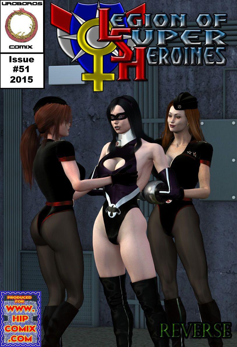 [Uroboros] Legion Of Superheroines 47 - 57 - part 4