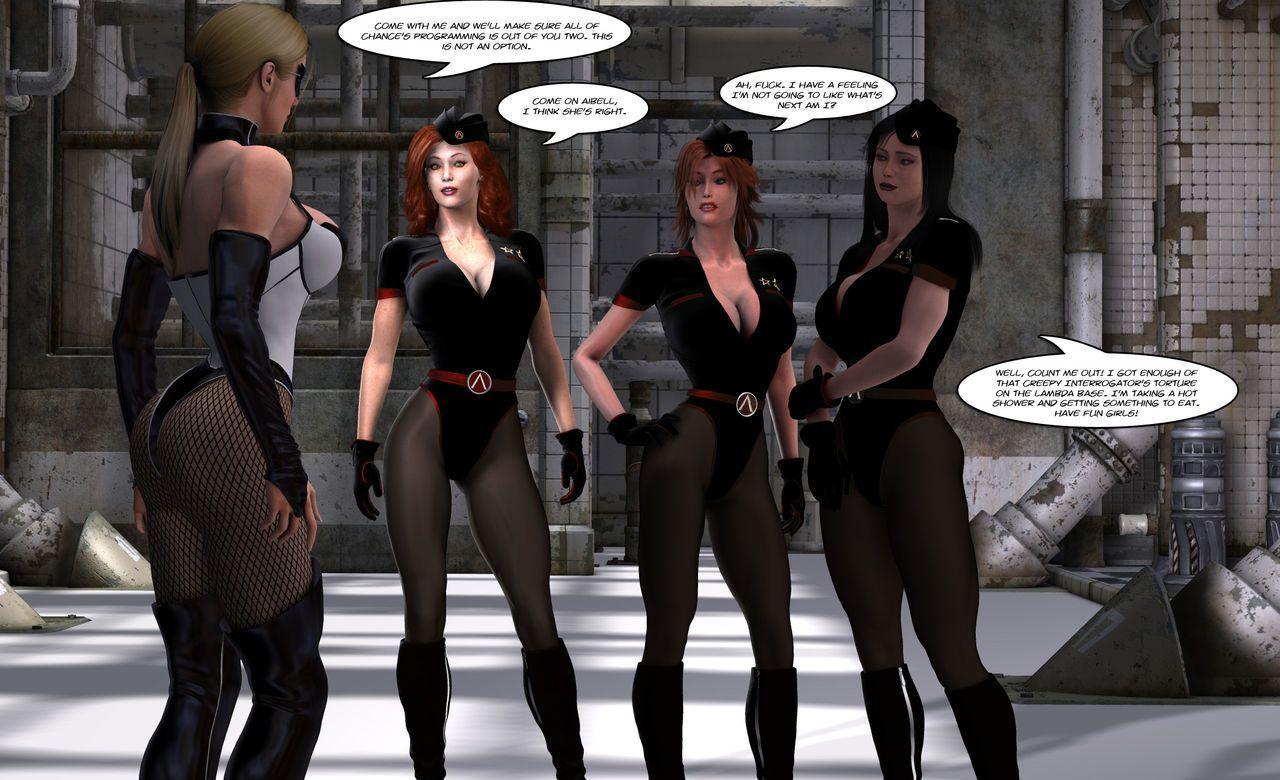 [Uroboros] Legion Of Superheroines 47 - 57 - part 9