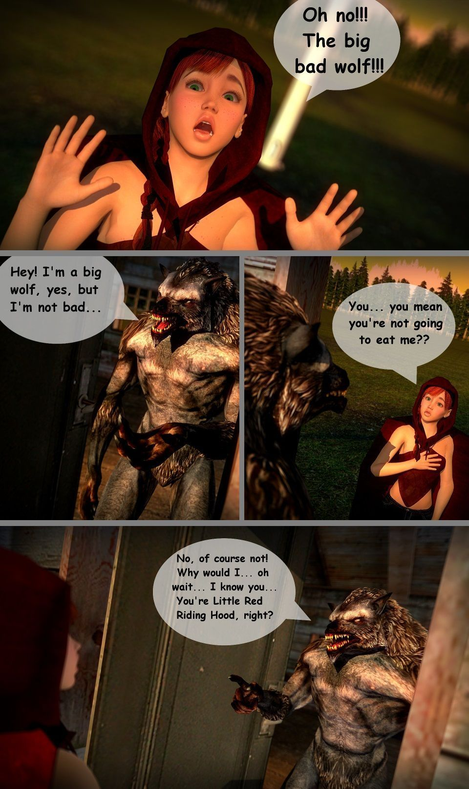 Red - A Little Red Riding Hood Story