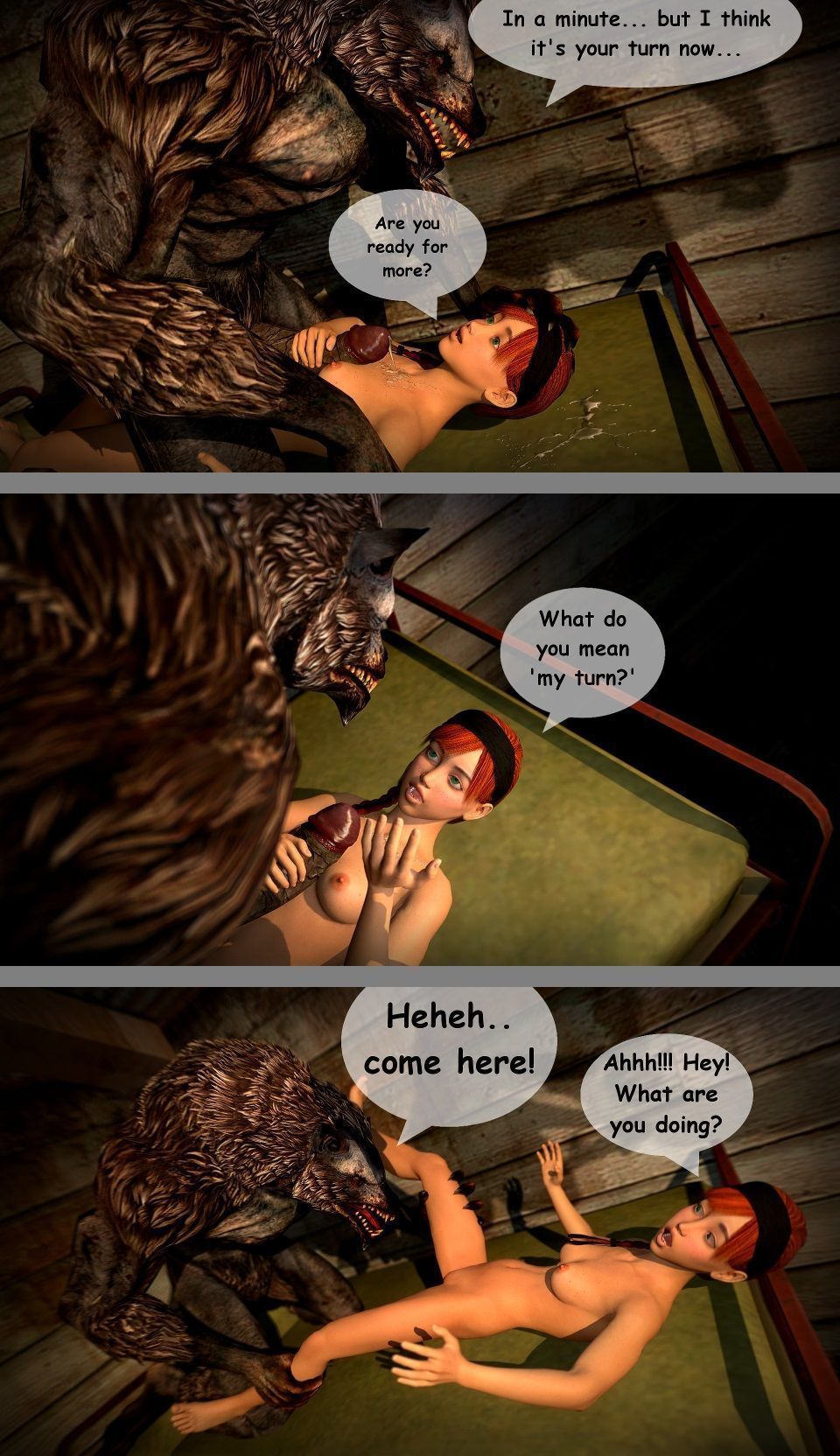 Red - A Little Red Riding Hood Story - part 2