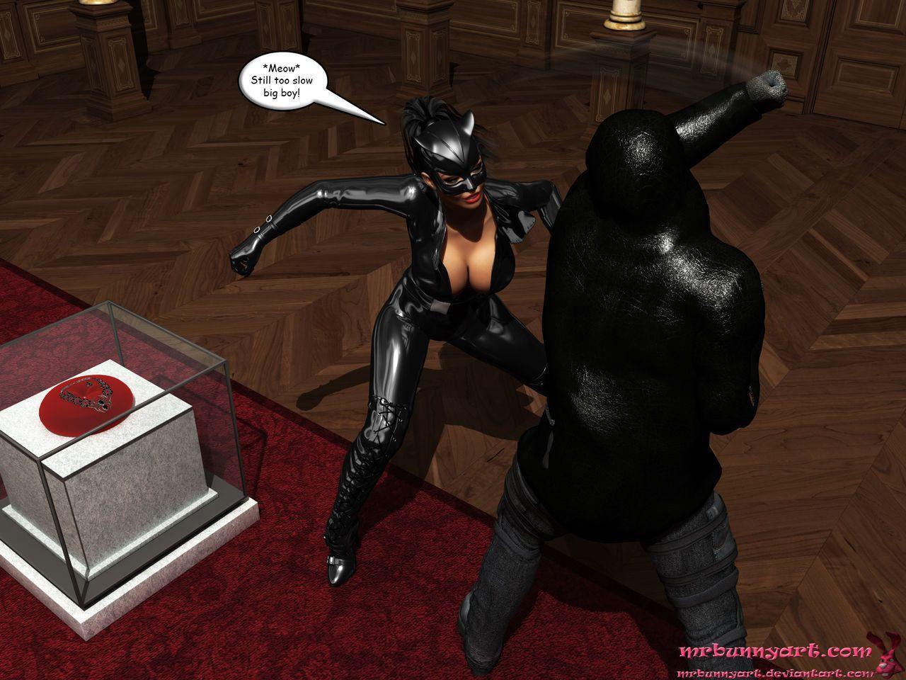 [MrBunnyArt] Cain vs Catwoman