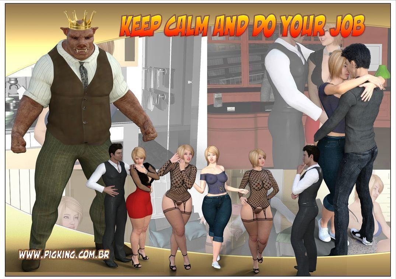 [Pig King] Keep Calm and Do Your Job [English]