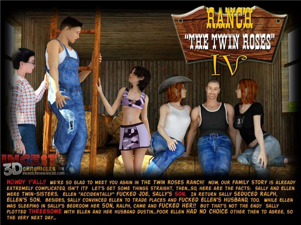 Ranch - The Twin Roses 1-5 - part 11