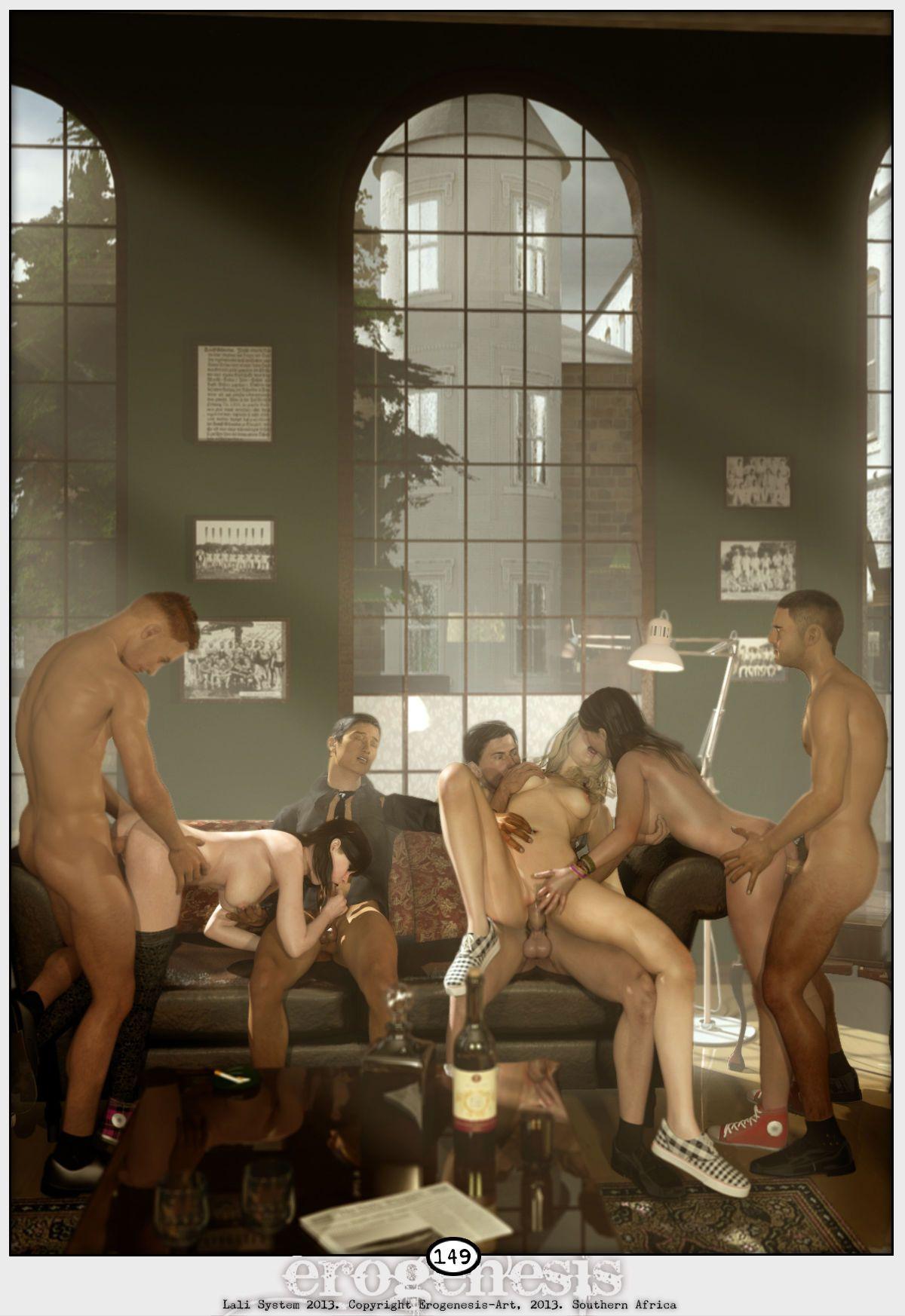 [Erogenesis] Lali Lite 1 - The Gentlemen\'s Club - part 8