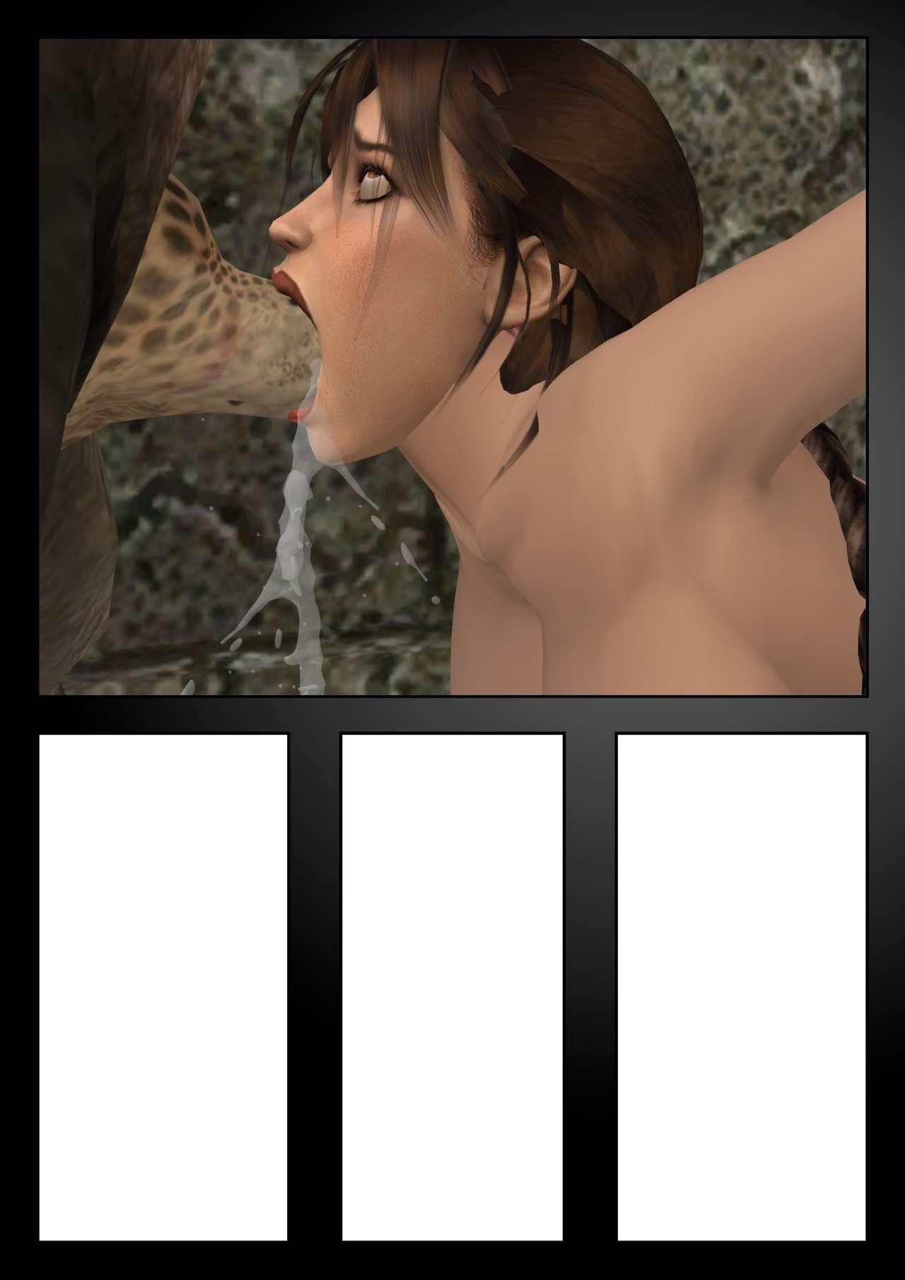 Lara Croft Vs The Minotaurus W.I.P. - part 2