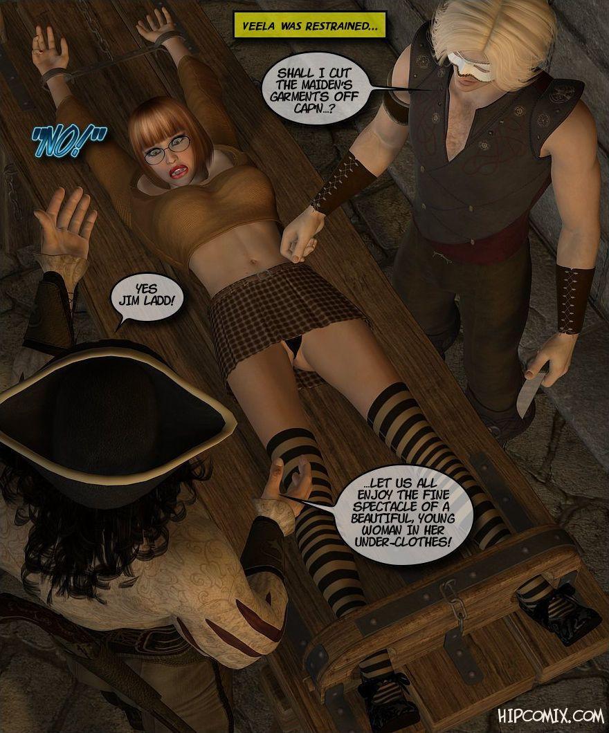 [Foxy Komix] Black Jack the Pirate 1-9 - part 4