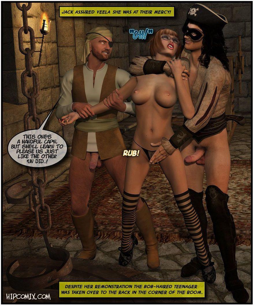 [Foxy Komix] Black Jack the Pirate 1-9 - part 5