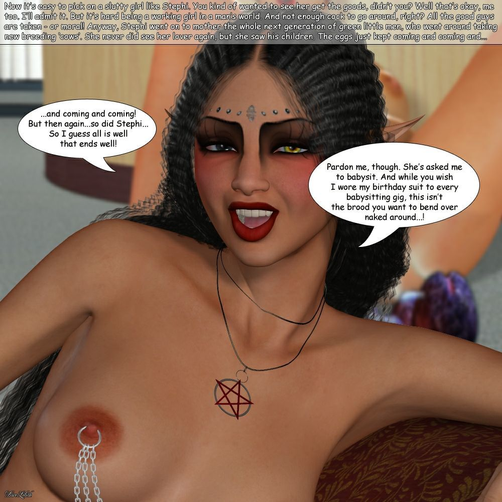 [Dire Lilith] The Stuffing of Stephi - part 2