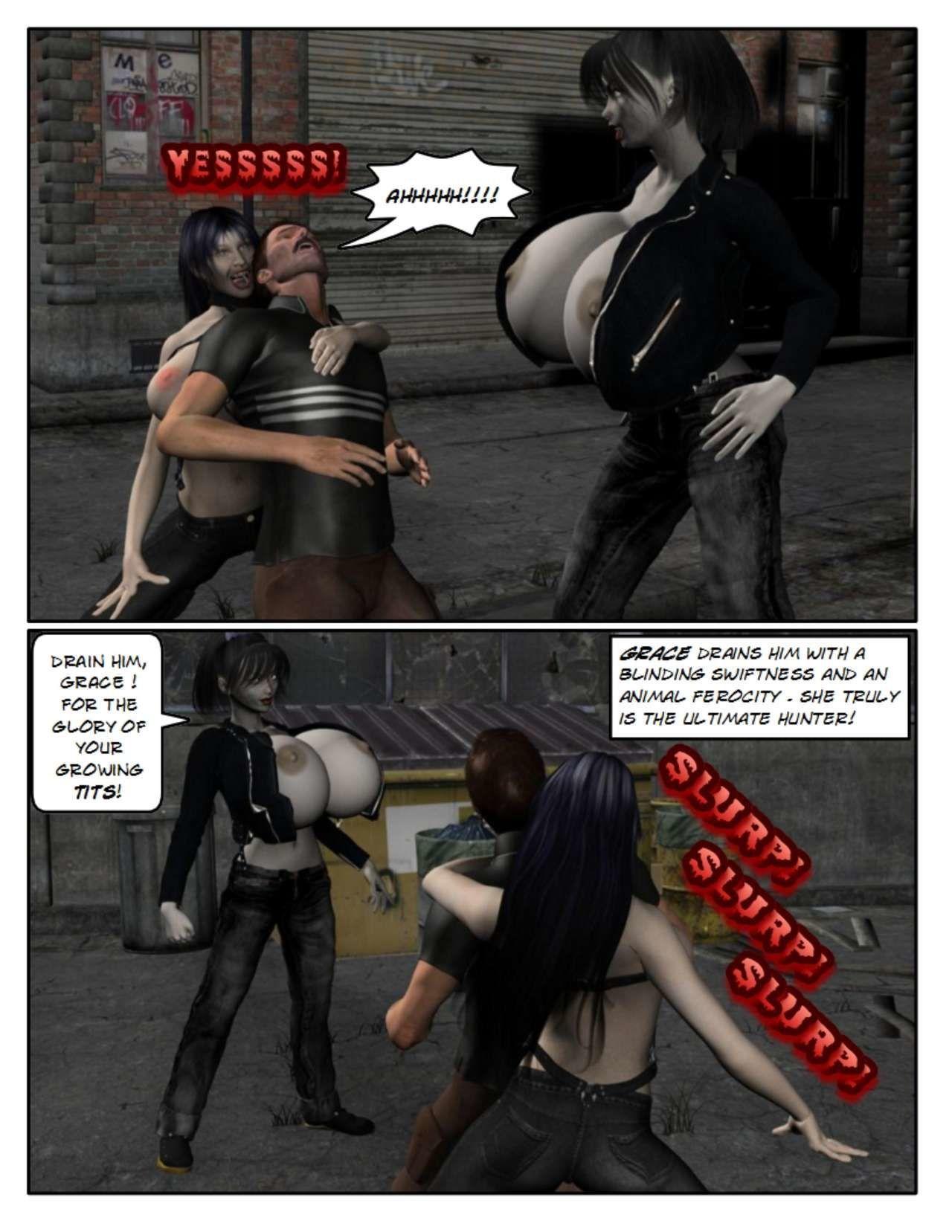 [StrongAndStacked] Boob Vampiresses 1