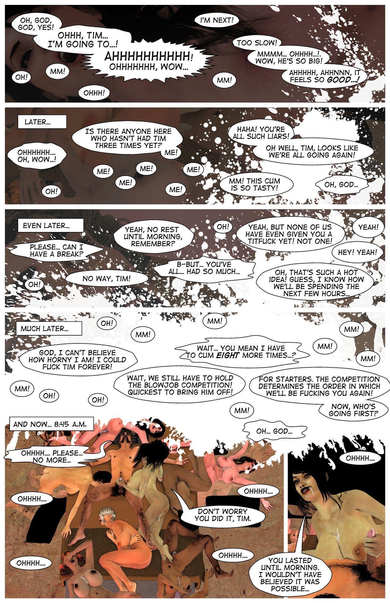 A Long Night - original harem comic