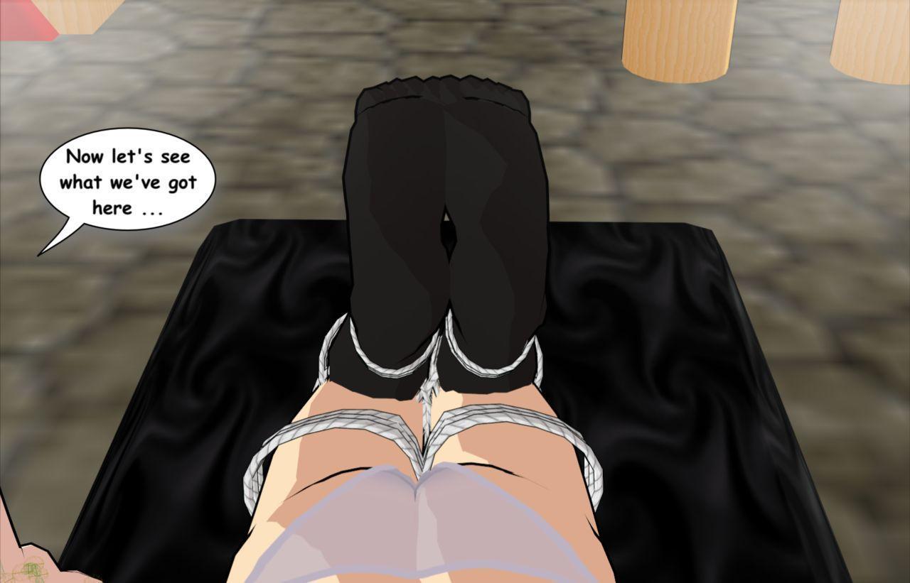 3D Foot Fetish & Bondage